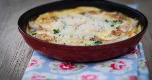 omlet z dorszem 1