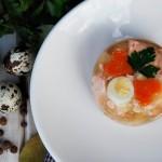 Galaretka z łososiem na Wielkanoc