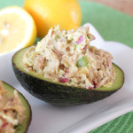 Przystawka z awokado i tuńczyka