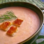 Zupa łososiowa