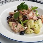 Ośmiorniczka, ziemniaki i oliwki…