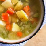 Zupa warzywna z koperkiem
