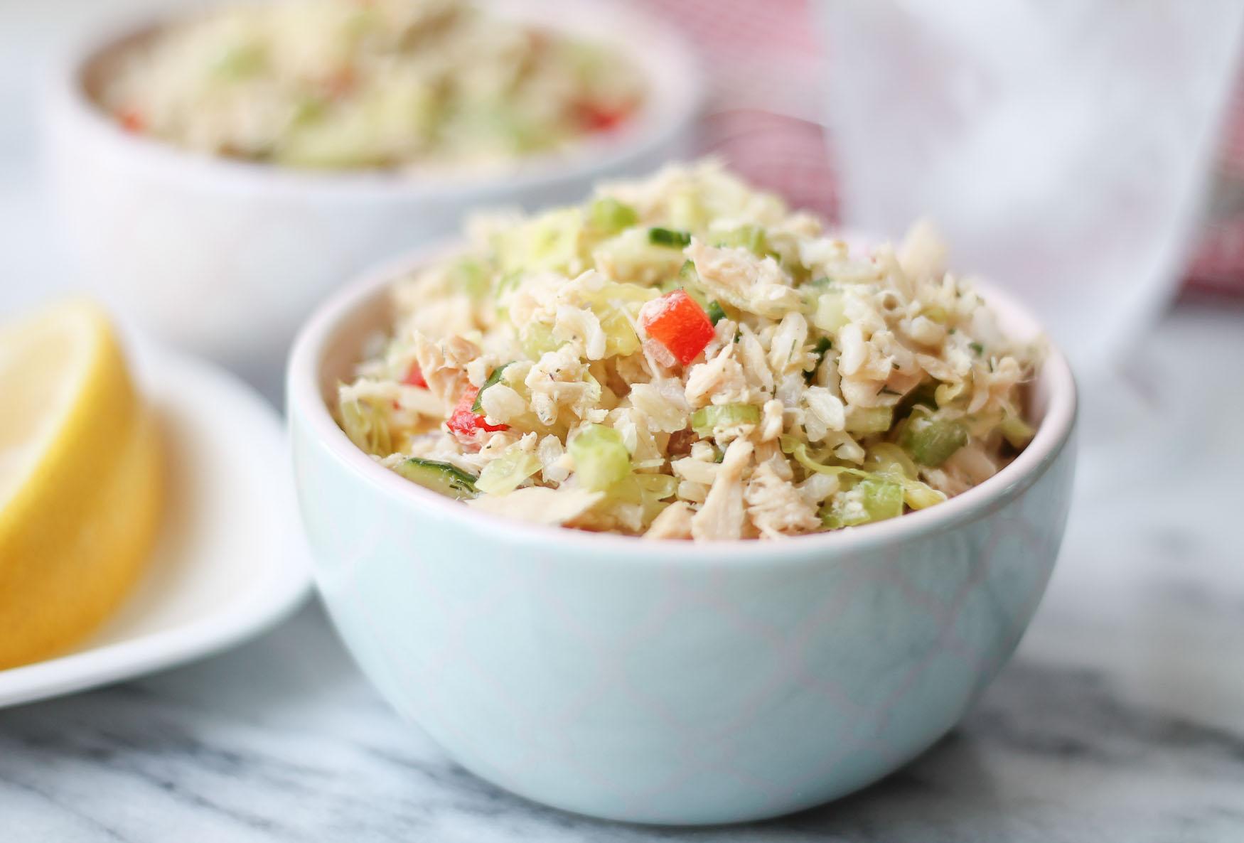 Salatka Z Tunczykiem Kukurydza I Ryzem Rybyswiata Pl