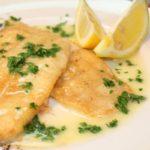 Ryba w mocno cytrynowym sosie