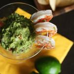 Guacamole z krewetkami