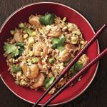 Ryż z krewetkami i papryką