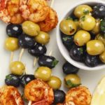 Krewetki z oliwkami na grilla…